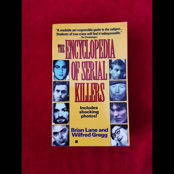 Image of the cover of the book The Encyclopedia of Serial Killers
