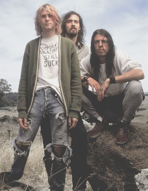 Image of the band Nirvana
