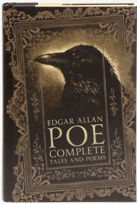 Image of the cover of the book titled Complete Tales and Poems of Edgar Allan Poe.